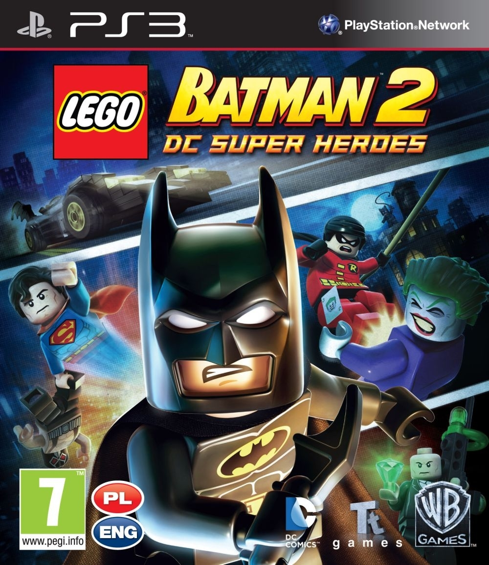 LEGO Batman 2 DC Super Heroes PL / ANG (PS3)